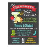 Fiesta de bienvenida al bebé del Co-ed del Tacos y Invitación 12,7 X 17,8 Cm