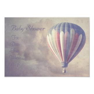 Fiesta de bienvenida al bebé del globo del aire