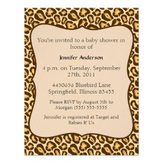 Fiesta de bienvenida al bebé del guepardo comunicados personales