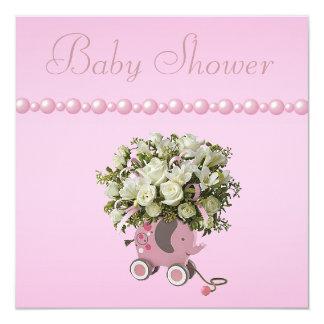 Fiesta de bienvenida al bebé del juguete, de las invitación 13,3 cm x 13,3cm