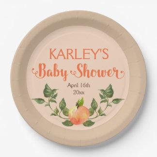 Fiesta de bienvenida al bebé del mercado de los platos de papel