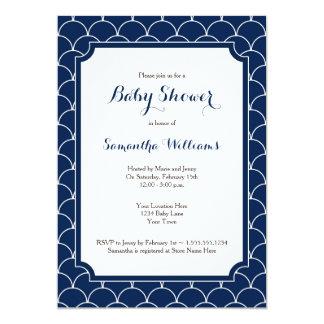 Fiesta de bienvenida al bebé del modelo de la invitación 12,7 x 17,8 cm