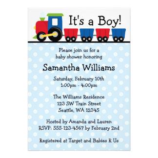 Fiesta de bienvenida al bebé del muchacho del tren