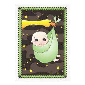 Fiesta de bienvenida al bebé del neutral del paque