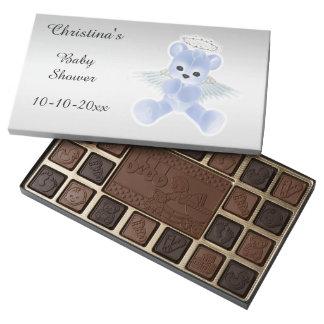 Fiesta de bienvenida al bebé del oso de peluche caja de bombones variados con 45 piezas