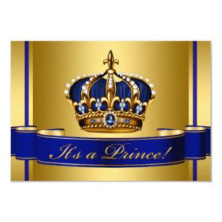 Fiesta de bienvenida al bebé del Príncipe heredero Invitación 8,9 X 12,7 Cm