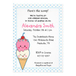 Fiesta de bienvenida al bebé del Social del helado