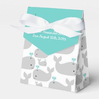 Fiesta de bienvenida al bebé del tema de la caja para regalos de fiestas