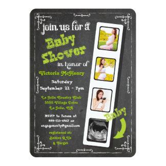 Fiesta de bienvenida al bebé del ultrasonido de la invitación 12,7 x 17,8 cm
