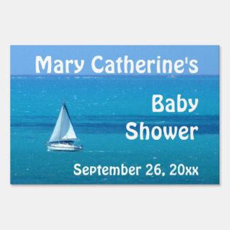 Fiesta de bienvenida al bebé del velero