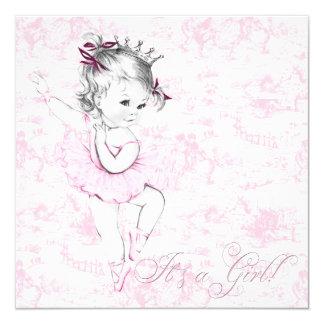 Fiesta de bienvenida al bebé dulce de Toile del Invitacion Personal