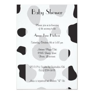 Fiesta de bienvenida al bebé - estampado de invitaciones personalizada