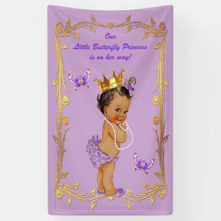 Fiesta de bienvenida al bebé étnica de princesa