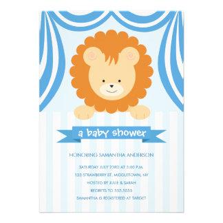 Fiesta de bienvenida al bebé Inviation - muchacho