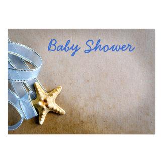 Fiesta de bienvenida al bebé invitacion personalizada