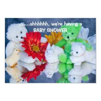 Fiesta de bienvenida al bebé - invitación