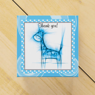 Fiesta de bienvenida al bebé linda de la jirafa el cajas para detalles de boda