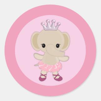 Fiesta de bienvenida al bebé linda TTC #10 del Tu Pegatinas Redondas