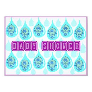 Fiesta de bienvenida al bebé - llover a bebés