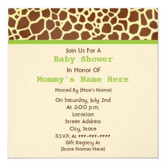 Fiesta de bienvenida al bebé neutral: Oso relleno Invitación Personalizada