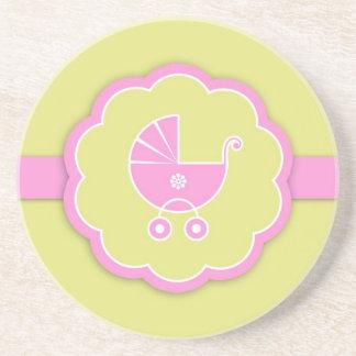 Fiesta de bienvenida al bebé/nuevo práctico de cos posavasos diseño