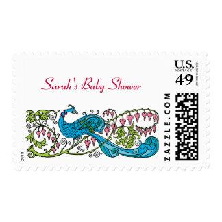 Fiesta de bienvenida al bebé personalizada del sellos