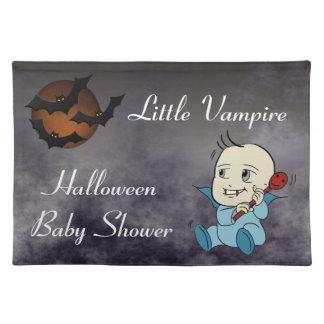 Fiesta de bienvenida al bebé Placemats del vampiro Manteles
