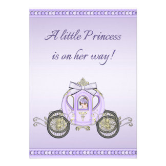 Fiesta de bienvenida al bebé púrpura de princesa C