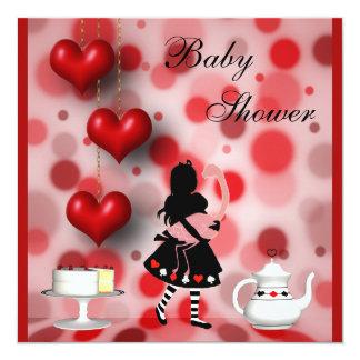 Fiesta de bienvenida al bebé retra de los comunicados personalizados