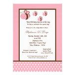 fiesta de bienvenida al bebé rosa clara de la abej comunicado personal
