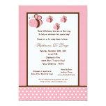fiesta de bienvenida al bebé rosa clara de la comunicado personal