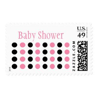 Fiesta de bienvenida al bebé (rosa clara/sello del