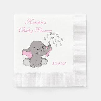 Fiesta de bienvenida al bebé, servilleta de papel