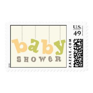 Fiesta de bienvenida al bebé timbres postales