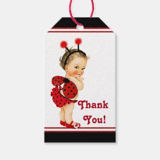 Fiesta de bienvenida al bebé triguena del chica de etiquetas para regalos
