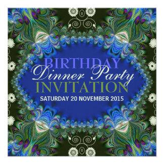 Fiesta de cena de encaje del cumpleaños de la deco comunicado