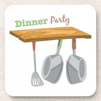 Fiesta de cena posavaso