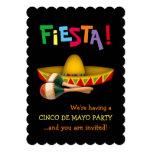 """Fiesta de Cinco de Mayo Invitación 5"""" X 7"""""""