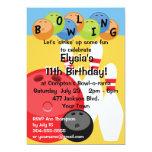 Fiesta de cumpleaños adaptable de los bolos comunicados personales