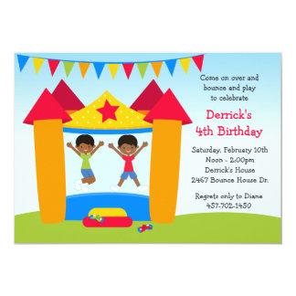 Fiesta de cumpleaños afroamericana de la casa de comunicado personal