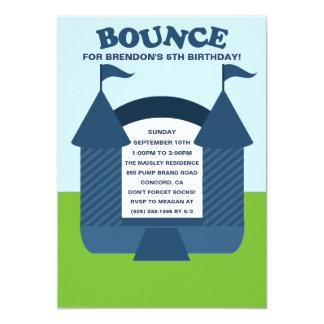 Fiesta de cumpleaños animosa de la casa de la invitacion personalizada