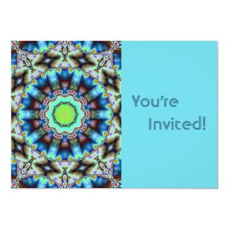 Fiesta de cumpleaños azul personalizada de la invitación 12,7 x 17,8 cm