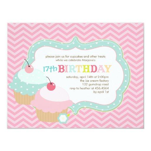 """Fiesta de cumpleaños colorida de la diversión de invitación 4.25"""" x 5.5"""""""