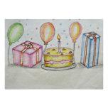 Fiesta de cumpleaños comunicado
