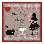 Fiesta de cumpleaños de Alicia, del flamenco y del Comunicados Personalizados
