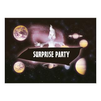 Fiesta de cumpleaños de Halloween de la sorpresa