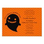 Fiesta de cumpleaños de Halloween Invitación 11,4 X 15,8 Cm