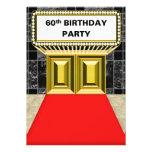 Fiesta de cumpleaños de la alfombra roja de la car