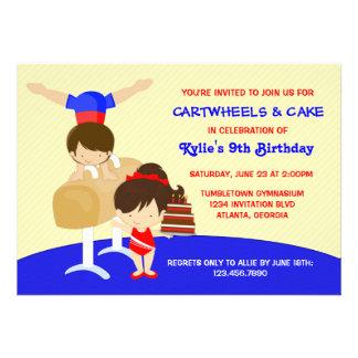 Fiesta de cumpleaños de la gimnasia de los Cartwhe