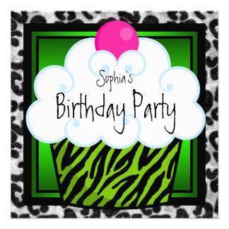 Fiesta de cumpleaños de la magdalena de los chicas comunicados personales